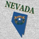 Nevada state flag by peteroxcliffe