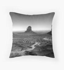 Monoliths Throw Pillow