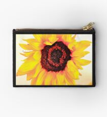 Translucent Sunflower Studio Pouch