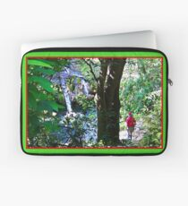 Moutain Pool and Waterfalls Laptop Sleeve