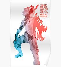 Inspirational Todoroki Poster
