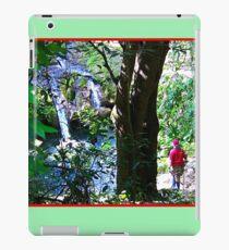 Moutain Pool and Waterfalls iPad Case/Skin