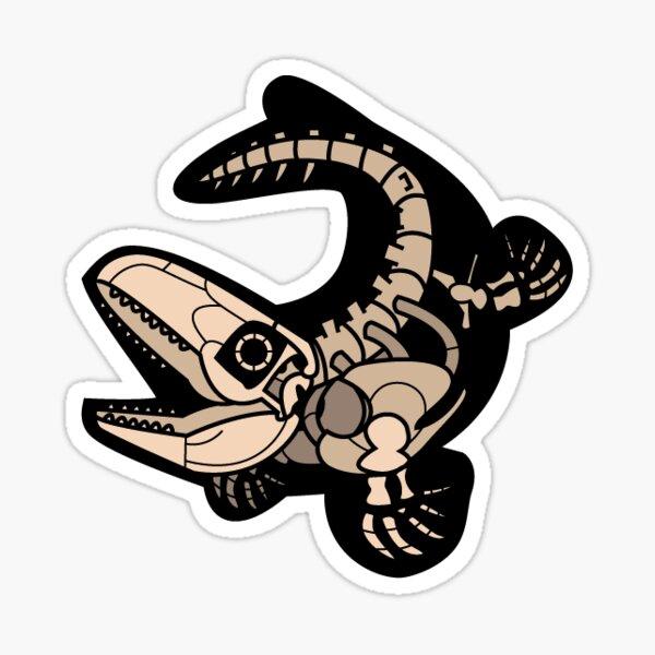 Mosasaurus Sticker