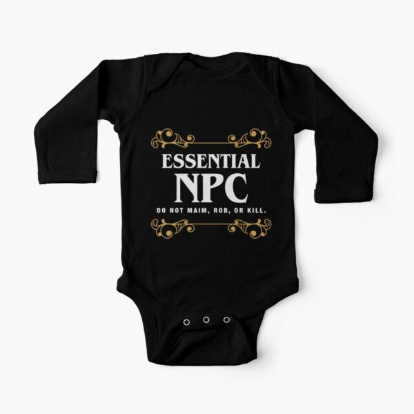 Jeu de caractères non jouable NPC essentiel Body manches longues