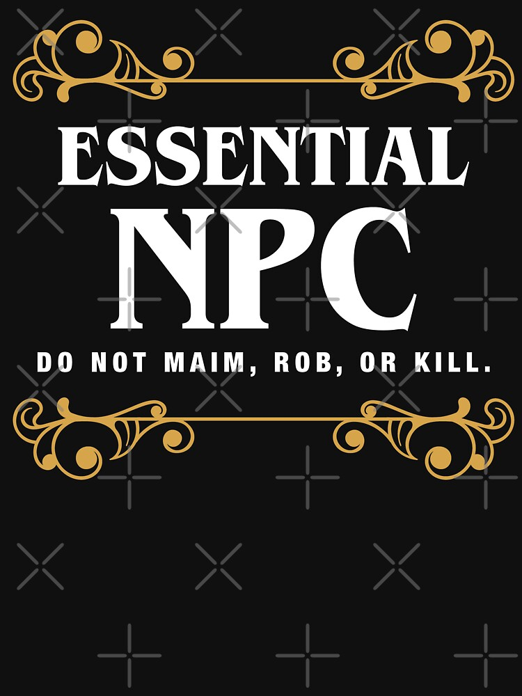 Essential NPC Non-Playable Character Gaming by pixeptional