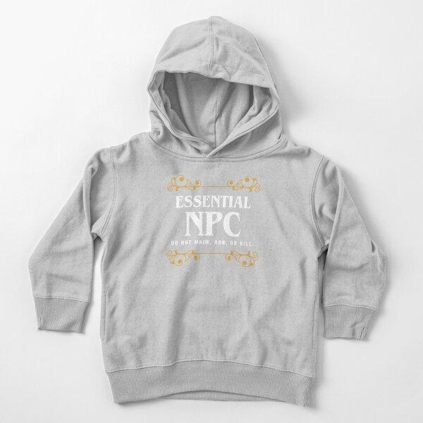 Juego de personajes no jugables esenciales de NPC Sudadera con capucha para bebé