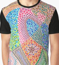 Abstract art Harvest pointillism Graphic T-Shirt
