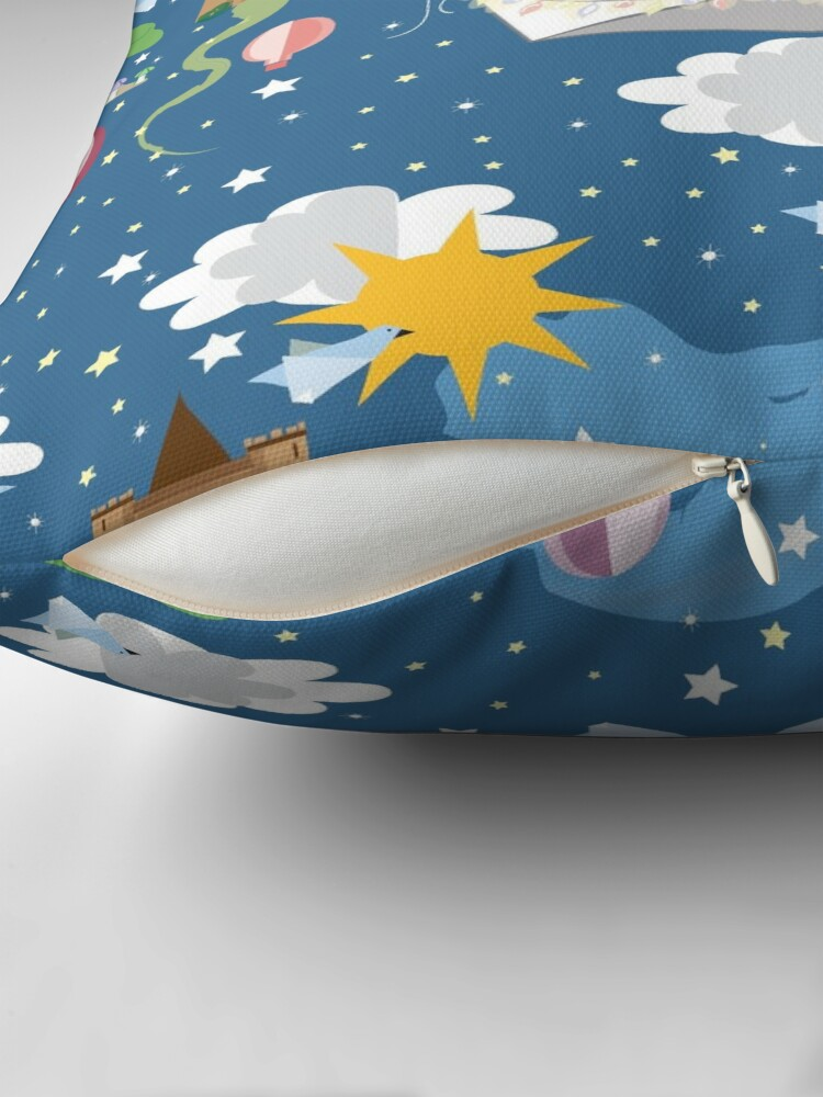 Alternate view of Paper Dreams Throw Pillow