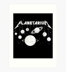 Planetarium (welcome Home) Art Print
