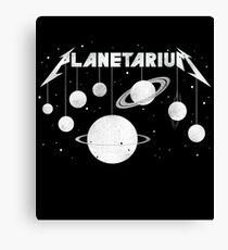 Planetarium (welcome Home) Canvas Print