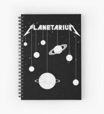 Planetarium (welcome Home) Spiral Notebook