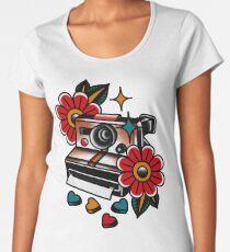 Traditional Polaroid Camera Women's Premium T-Shirt