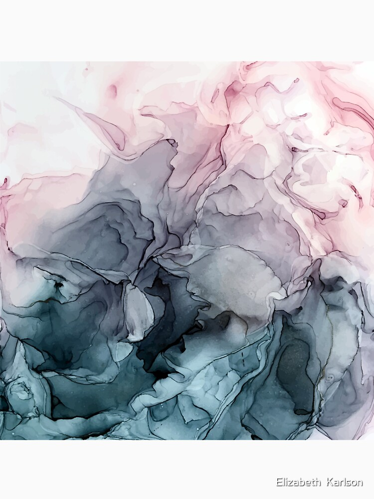 Erröten und Paynes graues fließendes abstraktes Gemälde von LSchulz19
