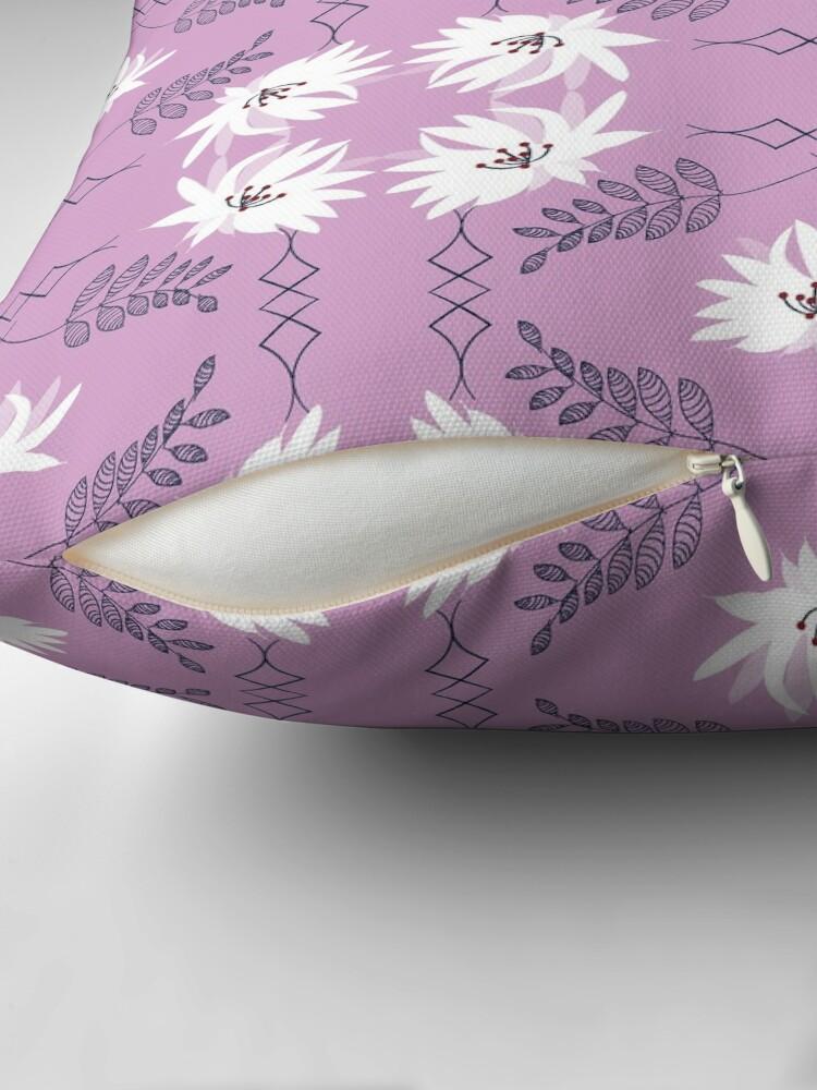 Alternate view of Serenity Blush Throw Pillow