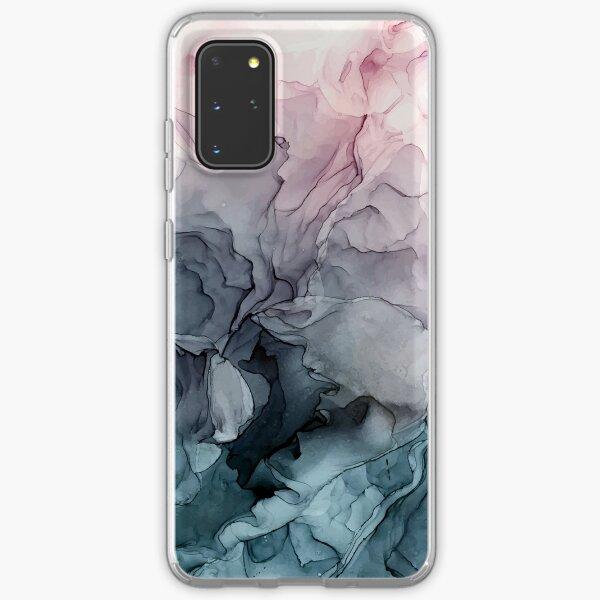 Peinture abstraite fluide de Blush et Payne Coque souple Samsung Galaxy