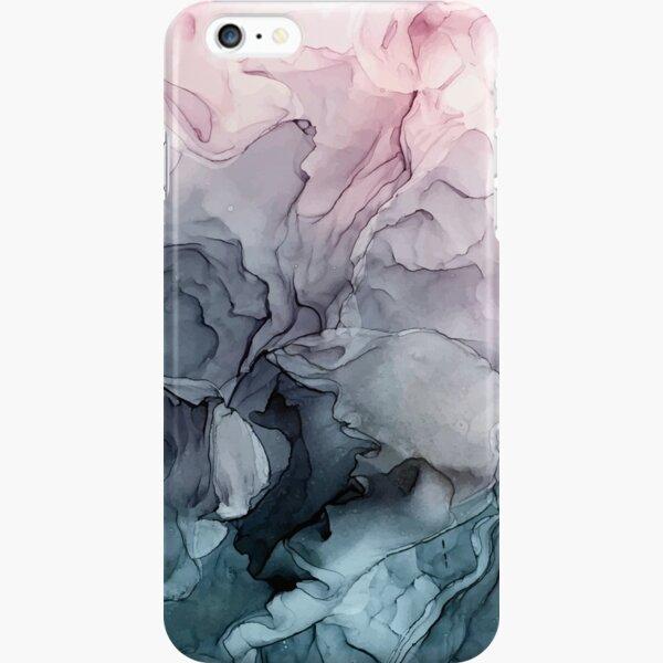 Erröten und Paynes graues fließendes abstraktes Gemälde iPhone Leichte Hülle