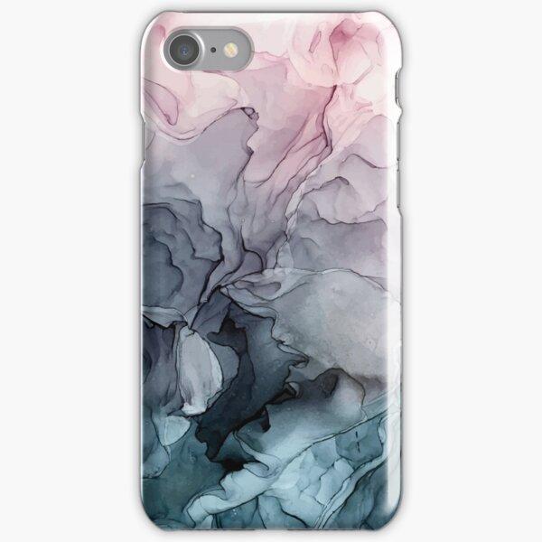 Peinture abstraite fluide de Blush et Payne Coque rigide iPhone