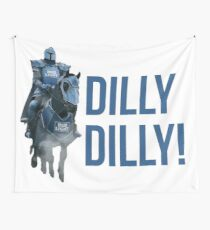 Dilly Dilly The Bud Knight Superbowl 2018 Wall Tapestry
