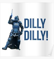 The Bud Knight Dilly Dilly Superbowl 2018 Poster