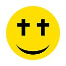 Smily Face with Eyes on the Cross by Pamela Maxwell