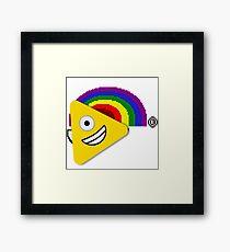 HEALTH:rainbow Framed Print
