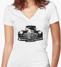 '41 Two-Door Sedan Women's Fitted V-Neck T-Shirt