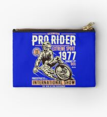 Reunion Pro Rider Extreme Sport 1977 Sunday, Dec 9th, 1977 - Freestyle International Show Studio Pouch