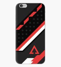 CSGO | Schwarz, Rot und Weiß iPhone-Hülle & Cover