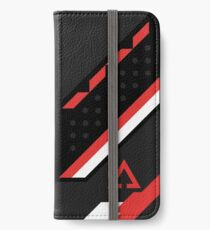 CSGO | Black, red & white iPhone Wallet/Case/Skin