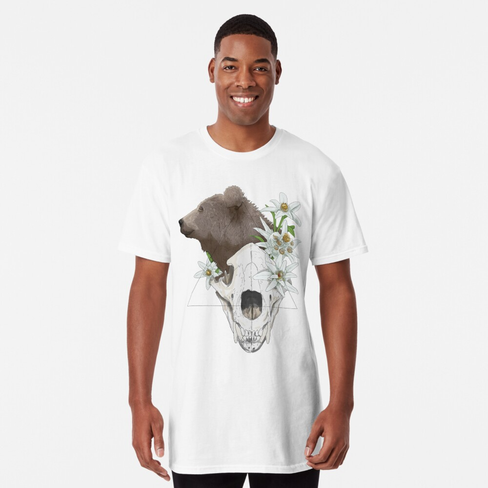 Skull - The bear Long T-Shirt