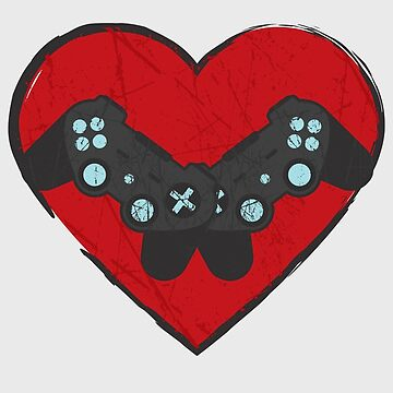 Gaming Valentine's Day by DinoCreations