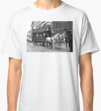 A Horse Drawn Bus - © Doc Braham; All Rights Reserved. Classic T-Shirt