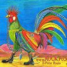 KOCK.rocks BiPolar Radio Punky Rooster Poster by AJLeibengeist