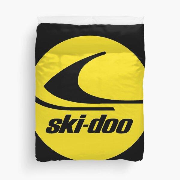 Ski Doo vintage Snowmobiles Duvet Cover