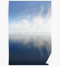 Sea reflections Poster
