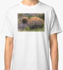 Red Spine Barrel Cactus and Friends Classic T-Shirt