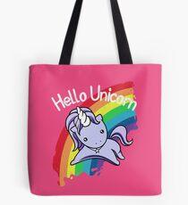 Bolsa de tela Hola Unicornio