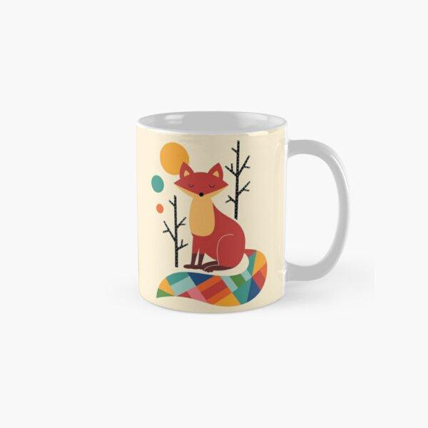 Rainbow Fox Classic Mug