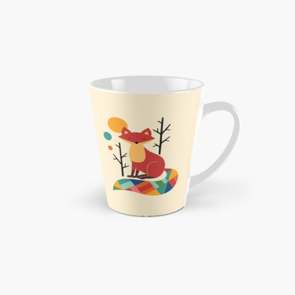Rainbow Fox Tall Mug
