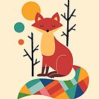 «Rainbow Fox» de AndyWestface