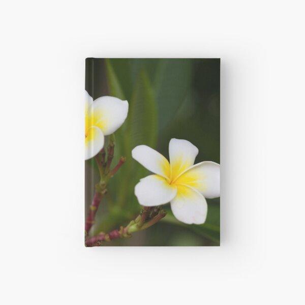 Frangipani leelawadee flowers Hardcover Journal