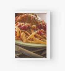 Chicken Parmesan with Linguine Hardcover Journal