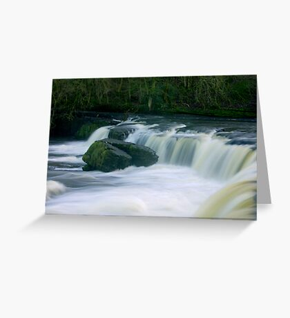Aysgarth Falls #3 Greeting Card