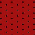 Dragon Polka Dots by Becca C. Smith