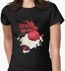 Strawberry Dream Women's Fitted T-Shirt