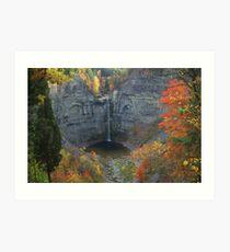 Taughannock in Autumn Art Print