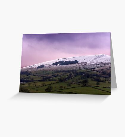 Wether Fell - Yorkshire Dales. Greeting Card