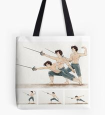 A Study In Fencing Tote Bag