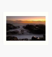 Sunrise at Mullway Art Print