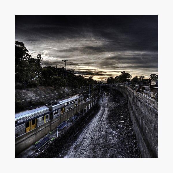 Kirrawee Track Works Photographic Print